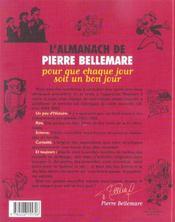 L'Almanach De Pierre Bellemare 2005-2006 (édition 2005/2006) - 4ème de couverture - Format classique