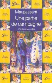 Une partie de campagne - Intérieur - Format classique