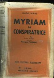 Myriam La Conspiratrice - Couverture - Format classique