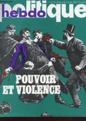 Politique Hebdo N°277 - Pouvoir Et Violence - Couverture - Format classique