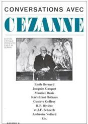 Conversations avec Cezanne - Couverture - Format classique