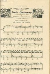 L'ILLUSTRATION du 27 juin 1908 - théâtre national de l'Opéra - BORIS GODOUNOW, opéra en trois actes et sept tableaux de MODESTE MOUSSORGSKY - Couverture - Format classique