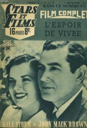 Stars Et Films - N°9 - L'Espoir De Vivre - Couverture - Format classique