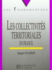 Les Collectvites Territoriales En France - Intérieur - Format classique
