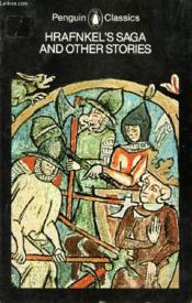Hrafnkel'S Saga, And Other Icelandic Stories - Couverture - Format classique