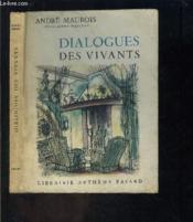 Dialogues Des Vivants - Couverture - Format classique