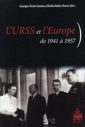 L'URSS et l'Europe ; de 1941 à 1957 - Intérieur - Format classique