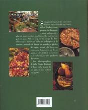 Les recettes du marches - 4ème de couverture - Format classique