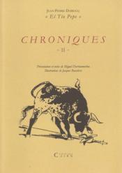 Chroniques El Tio Pepe t.2 - Couverture - Format classique