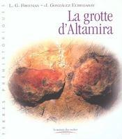 La Grotte D'Altamira - Intérieur - Format classique