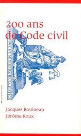 200 cents ans de Code civil - Intérieur - Format classique