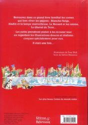 Il était une fois... ; les plus beaux contes - 4ème de couverture - Format classique