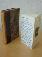 Le Cahier Noir. Poèmes 1914-1920 avec L.A.S. [ édition originale avec lettre autographe signée ] - Couverture - Format classique