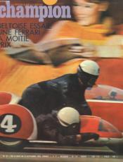 Champion N°32 - Beltoise Essaie Une Ferrari A Motie Prix - Couverture - Format classique