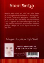 Night world t.6 ; âmes soeurs - 4ème de couverture - Format classique