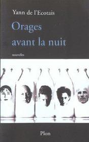 Orages Avant La Nuit - Intérieur - Format classique