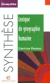 Lexiique De Geographie Humaine N.46 - Couverture - Format classique