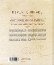 Divin caramel - 4ème de couverture - Format classique