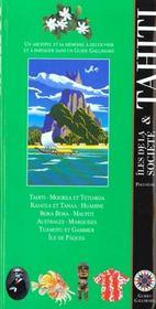 Tahiti Et Les Iles De La Societe (Moorea, Huahine, Raiatea Et T - Intérieur - Format classique