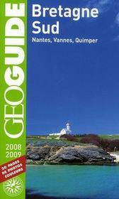 Geoguide ; Bretagne Sud ; Nantes, Vannes, Quimper (Edition 2008-2009) - Intérieur - Format classique