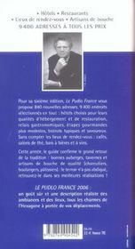 Le pudlo france 2006 - 4ème de couverture - Format classique
