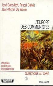 L'Europe des communistes - Couverture - Format classique