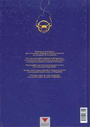 Aquablue T.3 ; le Mégophias - 4ème de couverture - Format classique