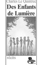 Des Enfants De Lumiere - Couverture - Format classique