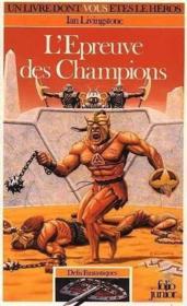 L'epreuve des champions - Couverture - Format classique