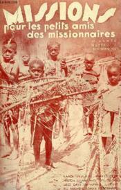 MISSIONS POUR LES PETITS AMIS DES MISSIONNAIRES, 3e ANNEE, N° 12, DEC. 1935 - Couverture - Format classique