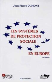 Les systemes de protection sociale en europe - Couverture - Format classique