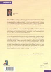 Introduction A L'Analyse Macroeconomique - 4ème de couverture - Format classique