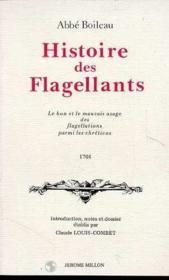 Histoire Des Flagellants - Couverture - Format classique