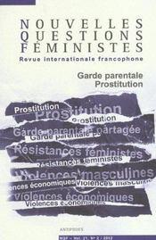 Revue Nouvelles Questions Feministes N.21/2 - Intérieur - Format classique