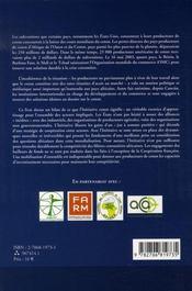 Le livre blanc sur le coton - 4ème de couverture - Format classique