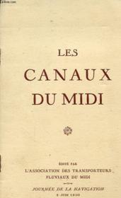 Les Canaux Du Midi - Couverture - Format classique