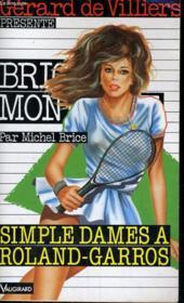 Simple Dames A Roland-Garros - Couverture - Format classique