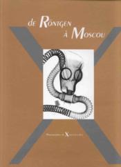 De Rontgen A Moscou - Couverture - Format classique
