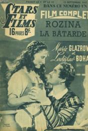 Stars Et Films - N°10 - Rozina La Batarde - Couverture - Format classique