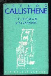 Le roman d'Alexandre - Couverture - Format classique