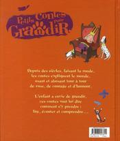PETITS CONTES POUR... ; grandir - 4ème de couverture - Format classique