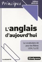 L'Anglais D'Aujourd'Hui - Intérieur - Format classique