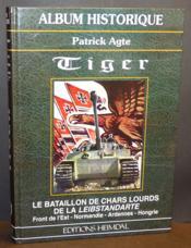 Tiger le bataillon de chars lourds de sepp - Couverture - Format classique