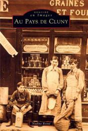 Au pays de Cluny - Couverture - Format classique