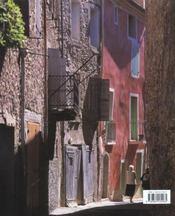 Les plus belles villes de charme de Provence - 4ème de couverture - Format classique