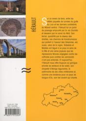 Découvrir l'Hérault - 4ème de couverture - Format classique