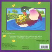 Les aventures de Pépin le poussin - 4ème de couverture - Format classique