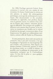 Cinéma suisse muet ; lumières et ombres - 4ème de couverture - Format classique