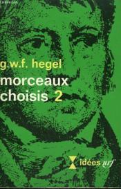 Morceaux Choisis N° 2. Collection : Idees N° 202 - Couverture - Format classique