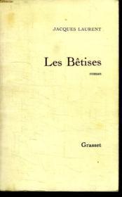Les Betises. - Couverture - Format classique